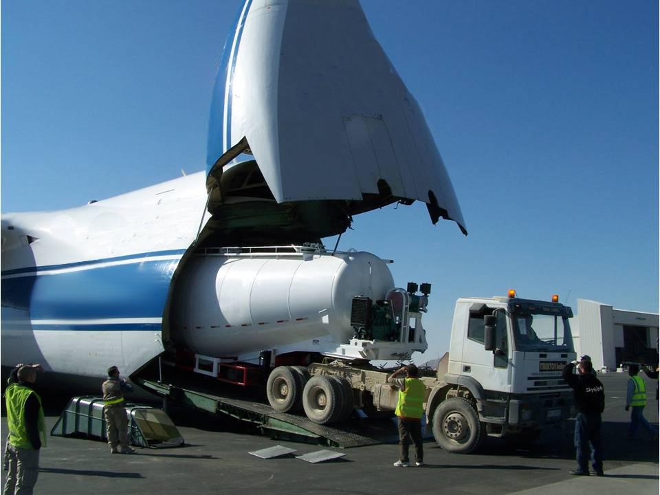 Доставка тяжеловесных грузов